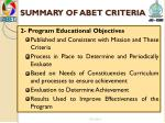 summary of abet criteria1