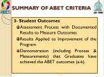 summary of abet criteria2