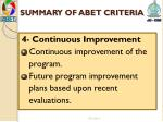 summary of abet criteria3