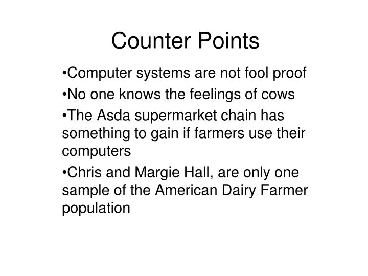Counter Points