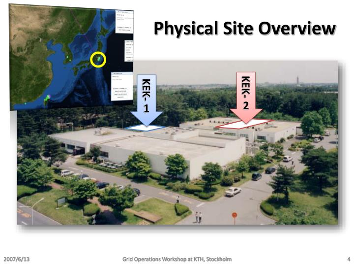 Physical Site Overview