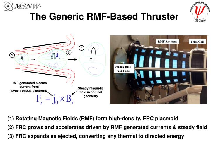 RMF generated plasma current from synchronous electrons