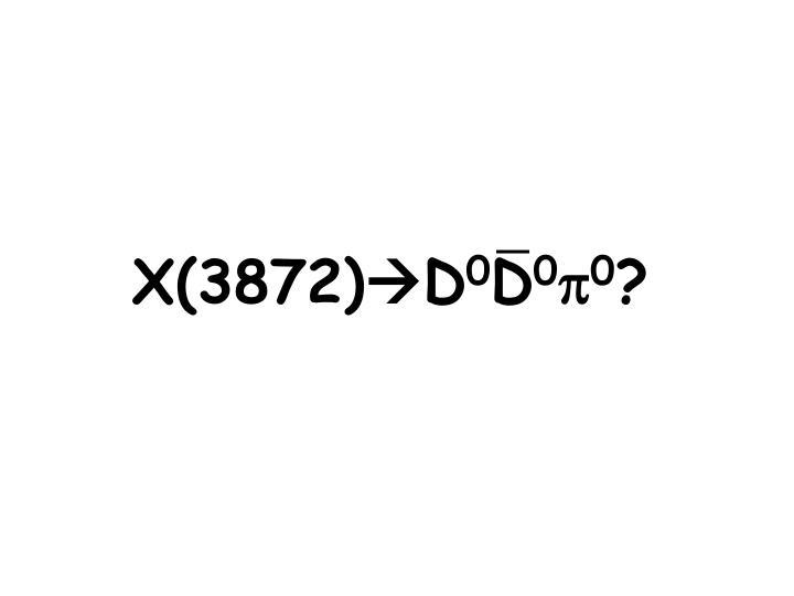 X(3872)