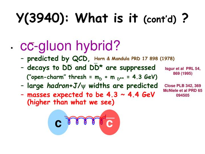 Y(3940): What is it