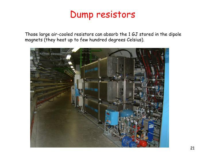 Dump resistors