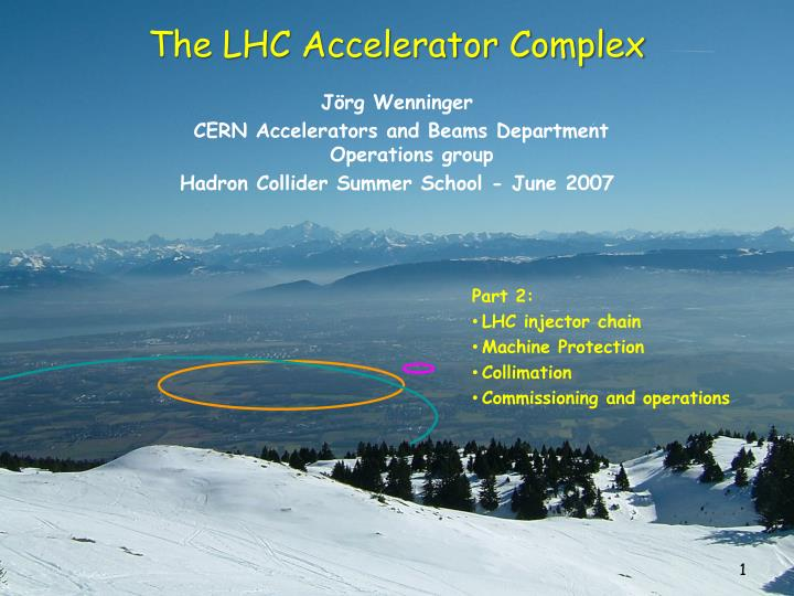 The LHC Accelerator Complex