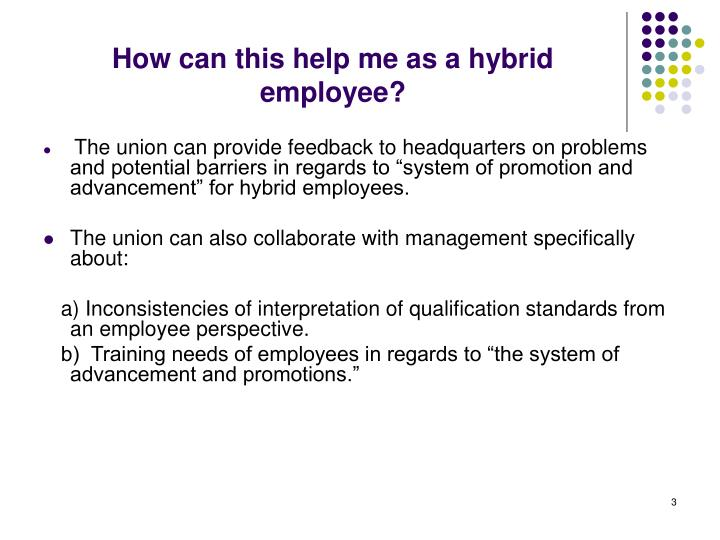 How can this help me as a hybrid employee?