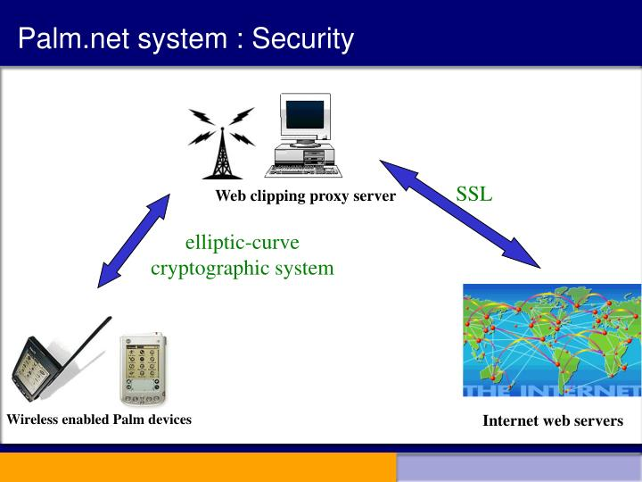 Palm.net system : Security