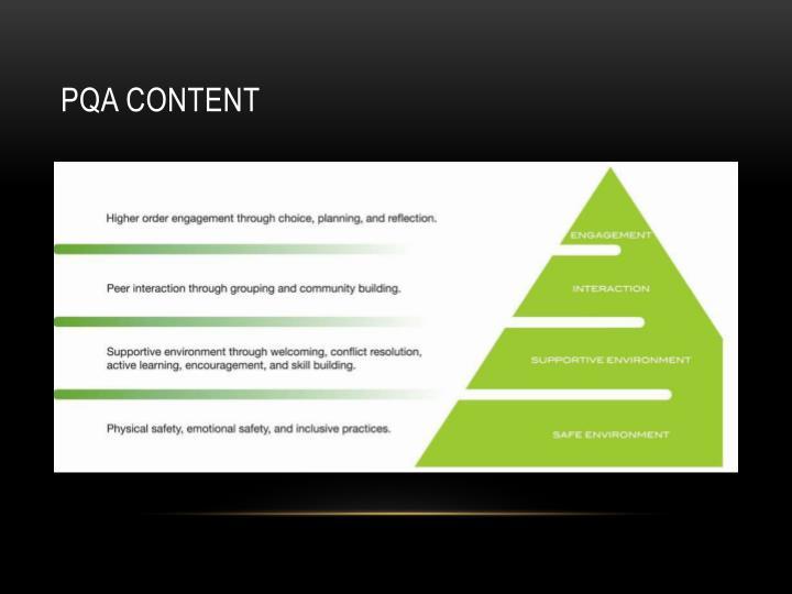 PQA Content