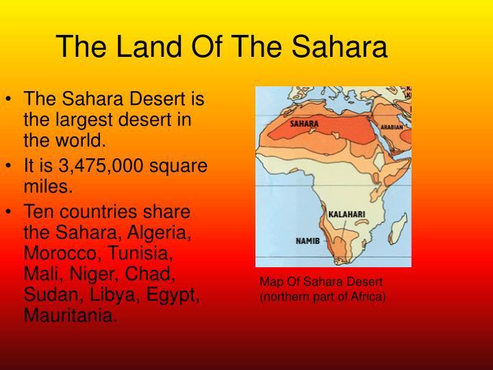 The Land Of The Sahara