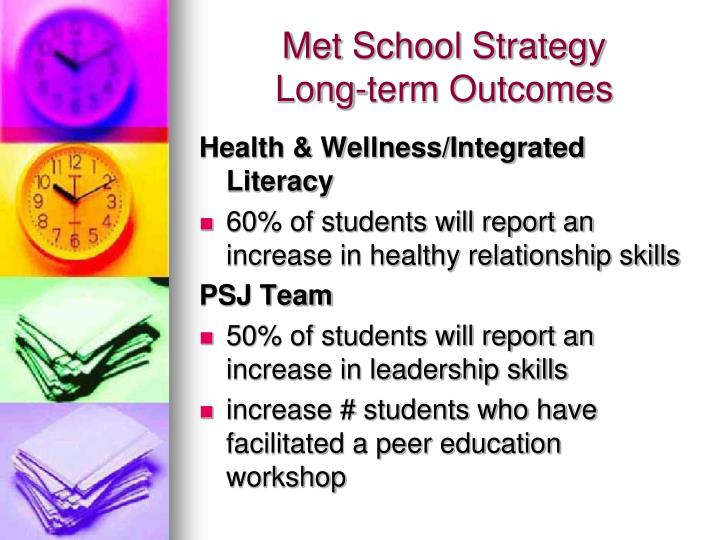 Met School Strategy