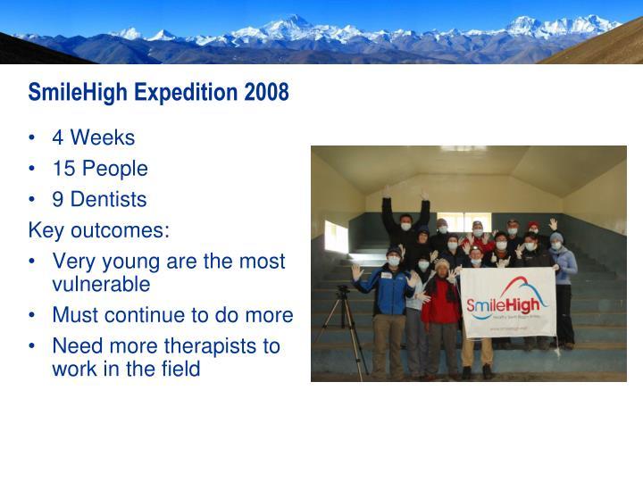 SmileHigh Expedition 2008