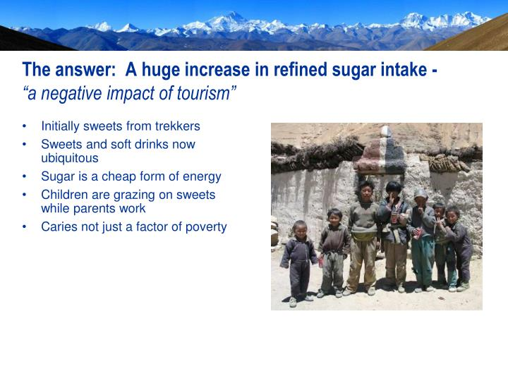 The answer:  A huge increase in refined sugar intake -