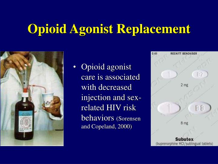 Opioid Agonist Replacement
