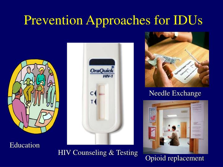 Prevention Approaches for IDUs