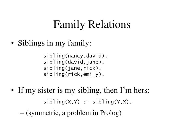 Family Relations