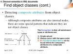 find object classes cont