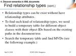 find relationship types cont3