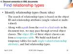 find relationship types