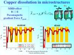 copper dissolution in microstructures1