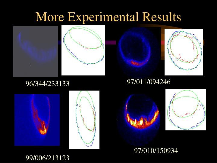 More Experimental Results