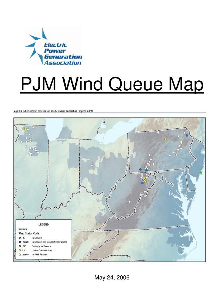 PJM Wind Queue Map
