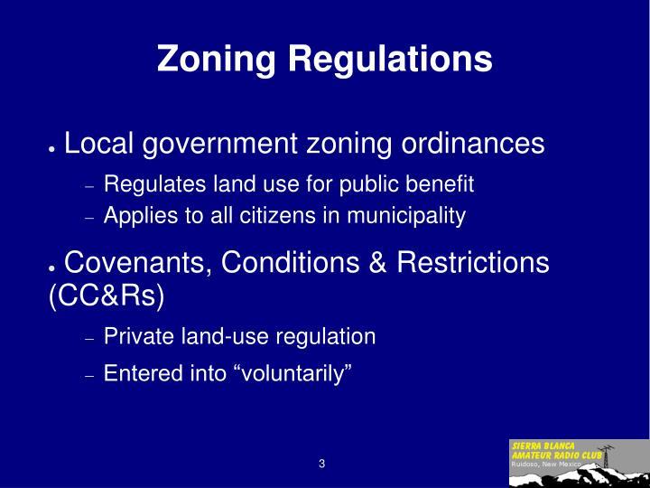 Zoning Regulations