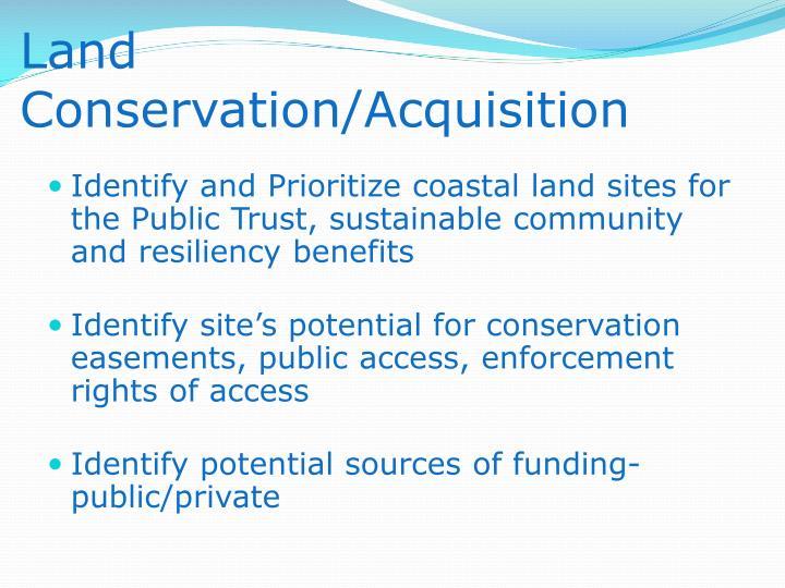 Land Conservation/Acquisition