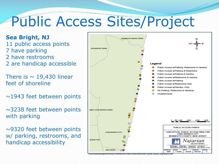 Public Access Sites/Project