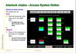 interlock chains access system online