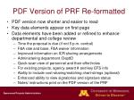 pdf version of prf re formatted