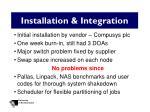 installation integration