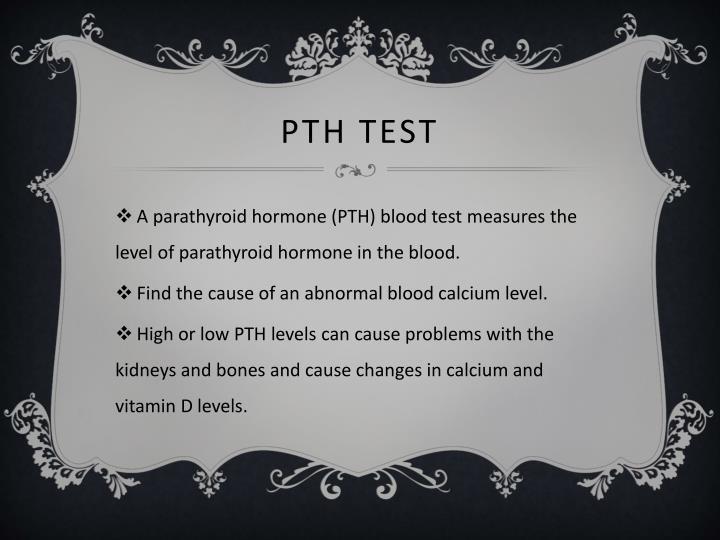 PTH Test