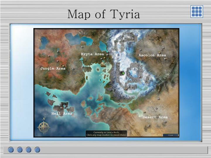 Map of Tyria