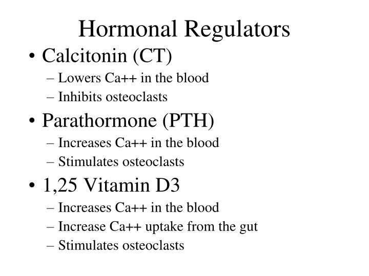 Hormonal Regulators