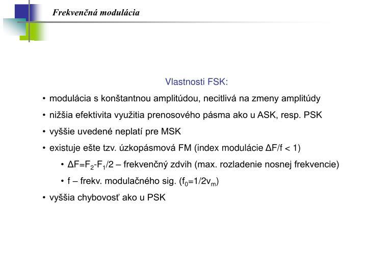 Frekvenčná modulácia