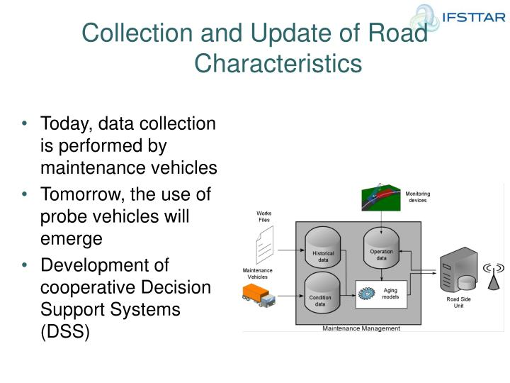 Collection and Update of Road Characteristics