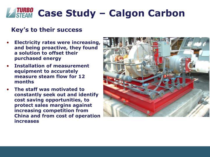 Case Study – Calgon Carbon