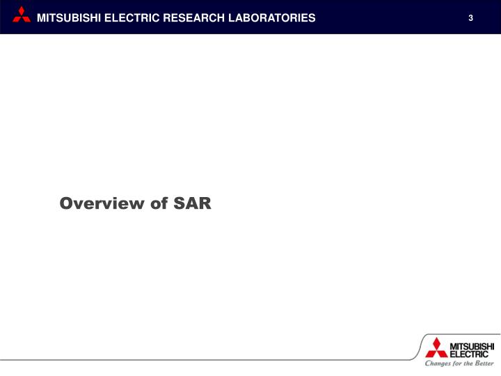 Overview of sar