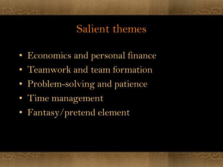 Salient themes