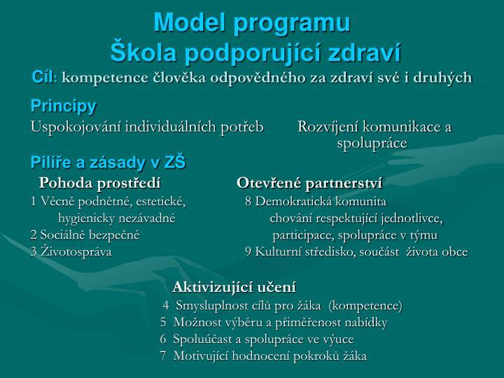 Model programu