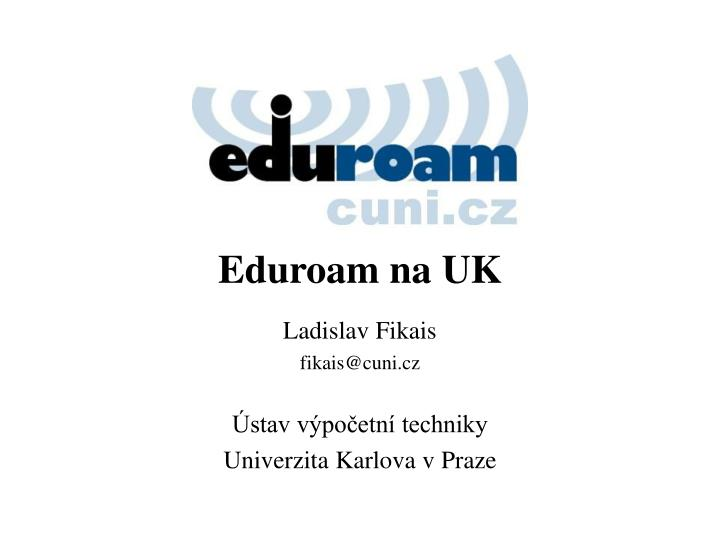 Eduroam na UK