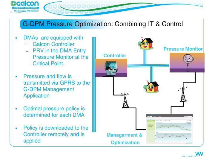 G-DPM Pressure Optimization: Combining IT & Control