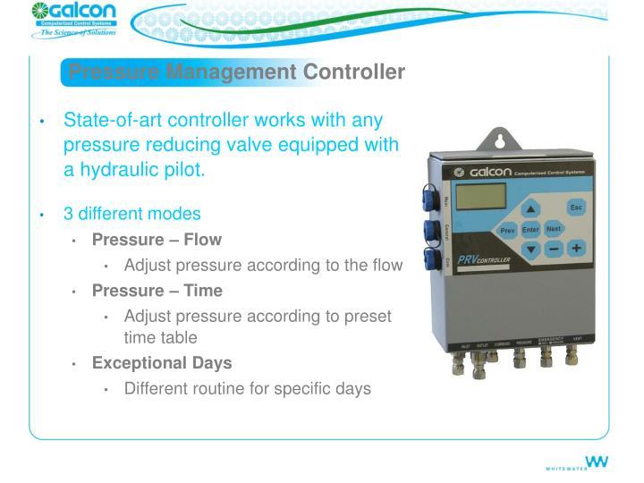 Pressure Management Controller