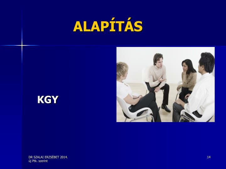 ALAPÍTÁS