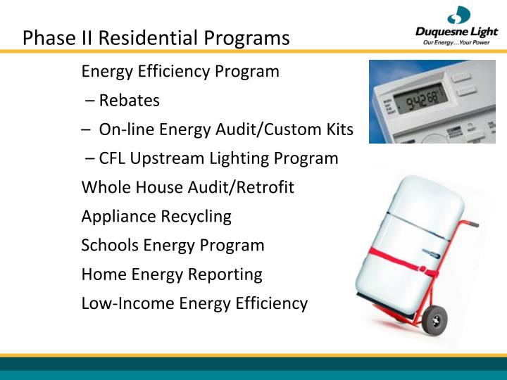 Phase II Residential Programs