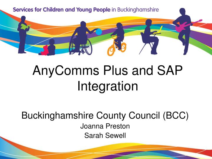 AnyComms Plus and SAP Integration
