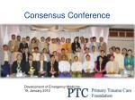 consensus conference
