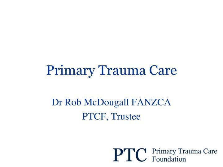 primary trauma care