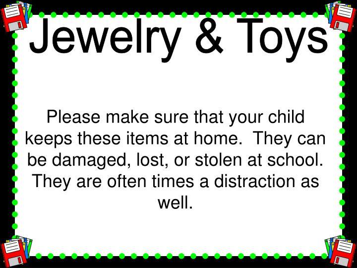 Jewelry & Toys